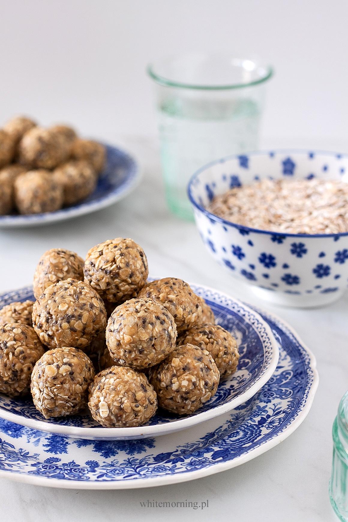 Kulki orzechowe z nasionami chia